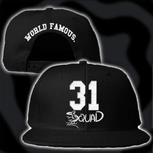 Black Squad Snapback
